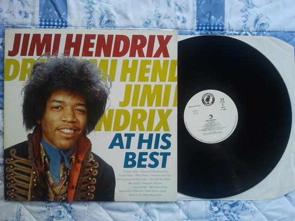 Jimi Hendrix At Is Best